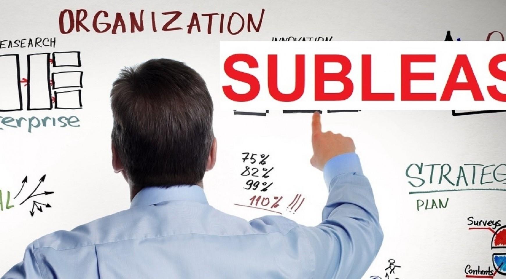A Sublease (albérletbe vett ) iroda előnyei